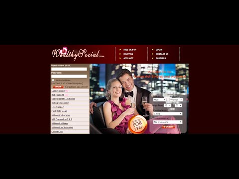 online dating wealthy