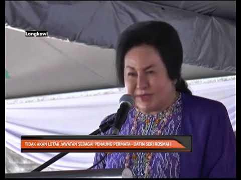 Tidak akan letak jawatan  sebagai penaung Permata - Datin Seri Rosmah