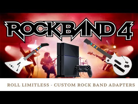 NEW ROCK BAND ADAPTER! Use Your Xbox 360/Wii Guitars On PS3/4!