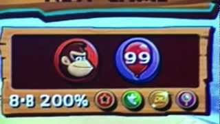 Donkey Kong Country Returns 200%, All Shiny Gold Medals, Mirror Mode Complete.