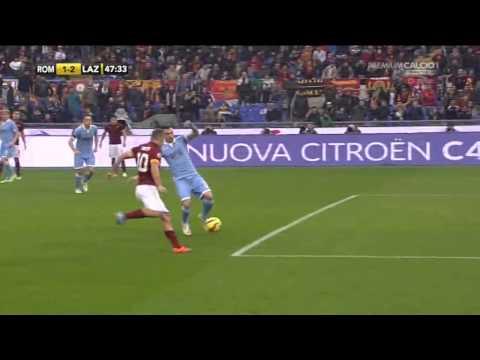 Roma-Lazio 2-2 Commento Zampa Serie A (11/1/2015)