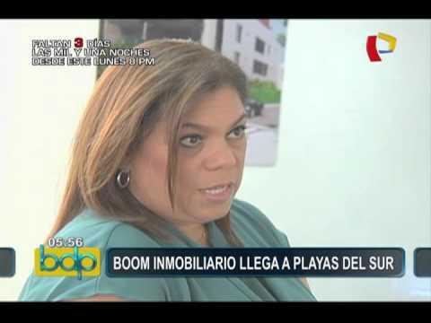'Boom' inmobiliario llega a playas del sur de Lima