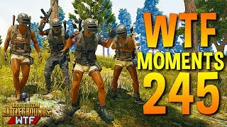 PUBG Daily Funny WTF Moments Highlights Ep 245