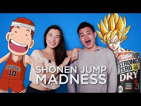 Shonen Jump Exhibition ft. Dragon ball! Get drunk too easy in Japan, and more