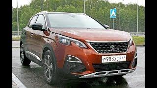 Тест драйв Пежо 3008 GtLine.  Test drive Peugeot 3008 GtLine.