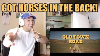 Baixar Lil Nas X - Old Town Road (Official Movie) ft. Billy Ray Cyrus - REACTION!! YEEHAW