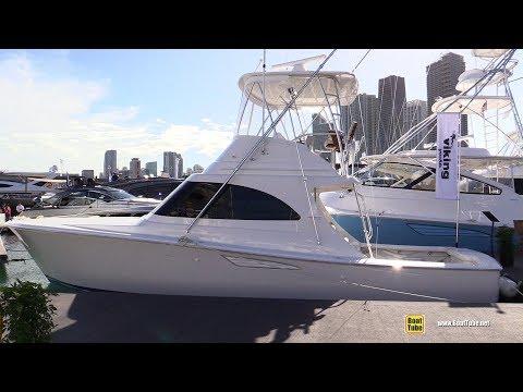2019 Viking 38 Billfish Fishing Boat - Walkaround - 2019 Miami Yacht Show