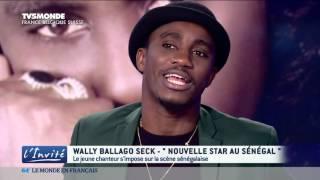 Wally Seck sur TV5 Monde dans L'invité