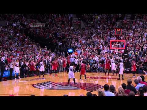 Damian Lillard's Ridiculous Game Winner Lifts Blazers Over R