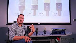 In-Depth look at the AKG C214/C314/C414 microphones.