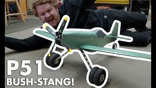 AIRPLANE MONSTER TRUCK | P51 BUSH-STANG