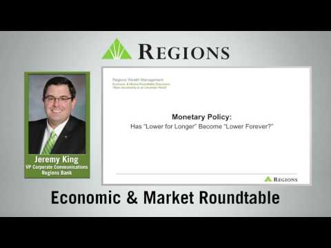Regions Economic & Market Roundtable Discussion: More Uncertainty in an Uncertain World