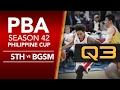 Semis Game 3: Star vs. Ginebra - Q3   PBA Philippine Cup 2016 - 2017