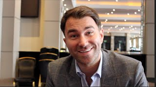 EDDIE HEARN - 'CROLLA NEEDED TO BE WELL PAID! ITS RISK REWARD'/ BROOK/ BRONER, VARGAS & AMIR KHAN