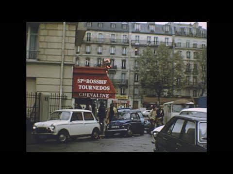 Paris 1982 archive footage