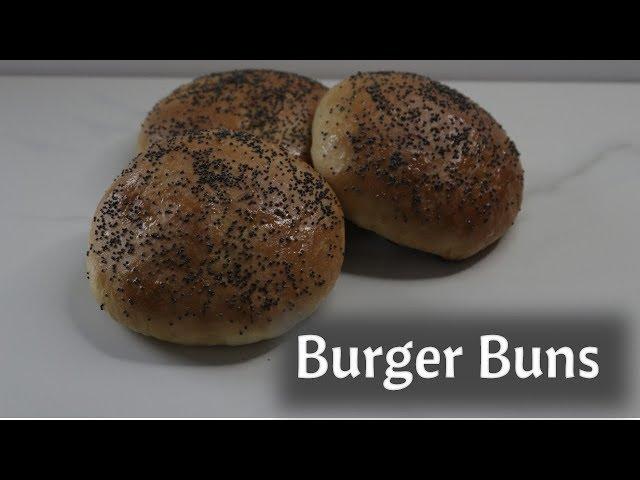 Burger Buns - Vegan - Dairy Free and Eggless