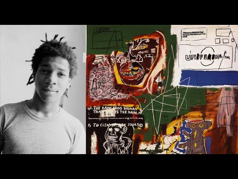 Video mostra Jean-Michel Basquiat opere dal 1980 al 1988 graffitismo americano