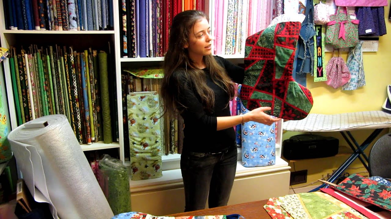 Quilted Christmas Gifts Ideas 2012 - YouTube