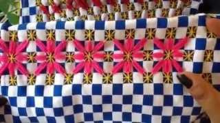 - 7 bordado español con cony