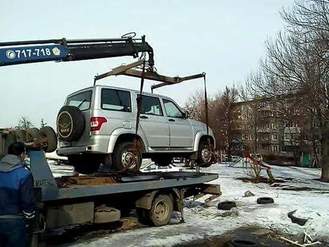 УАЗ Патриот- первая поломка на пробеге 18 500 км, исправили по гарантии.
