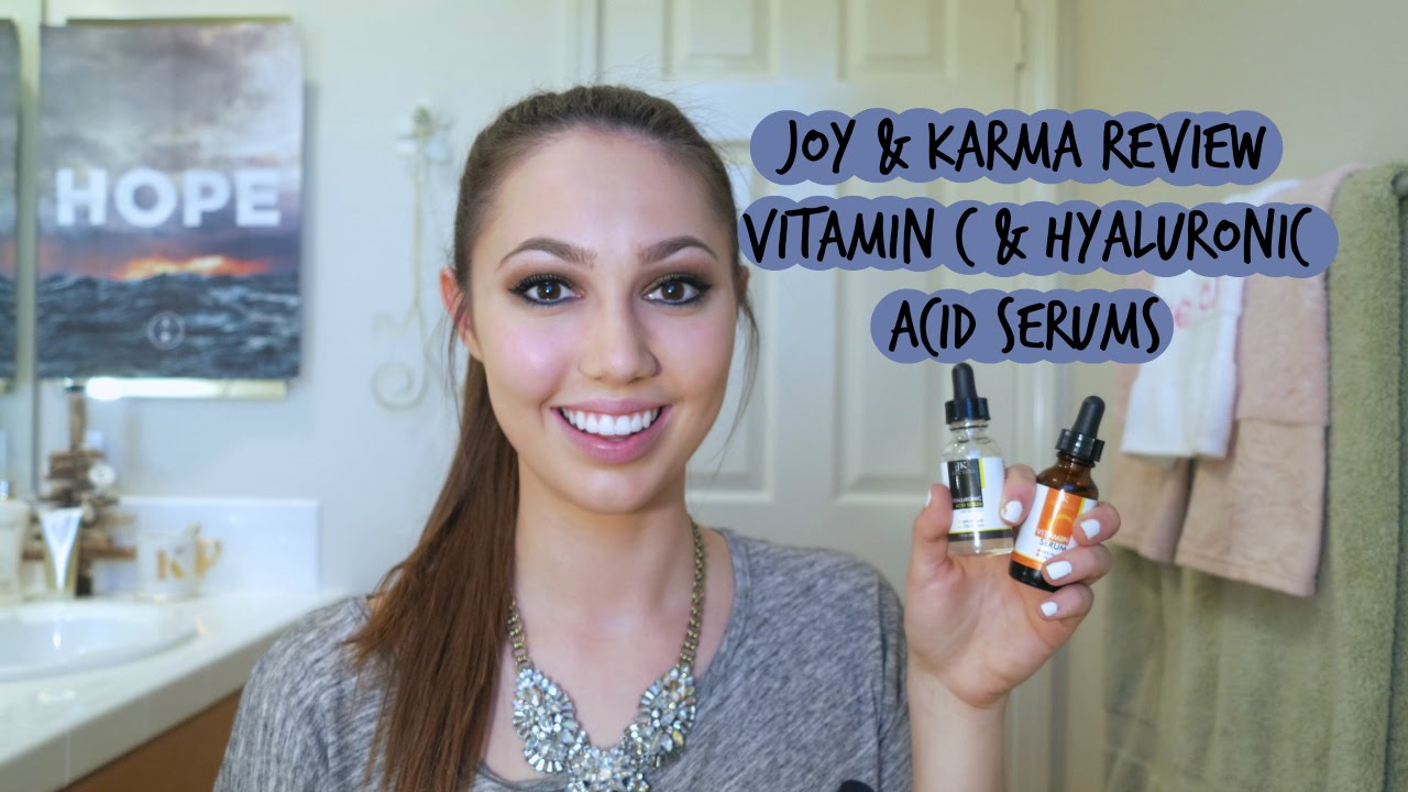 Joy karma hyaluronic acid vitamin c serum benefits anti joy karma hyaluronic acid vitamin c serum benefits anti aging restore skin youtube solutioingenieria Images