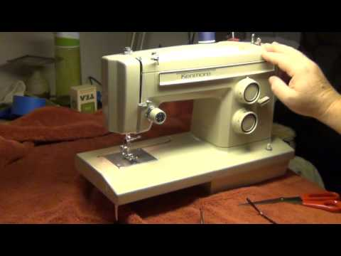 Kenmore 158 13360 Sewing Machine - YouTube
