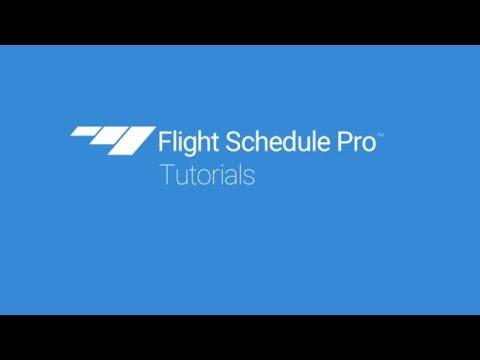 Make a Reservation on Flight Schedule Pro v4