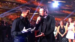 The 50th Annual ACMs- Football with Tony Romo and Luke Bryan