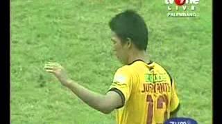Cuplikan Gol Sriwijaya vs PS Barito