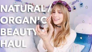 Natural / Organic Beauty Haul | Lana