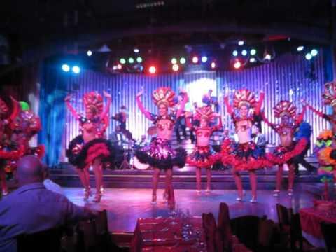 Cabaret Show at the Parisian - Havana, Cuba