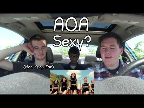 AOA - GoodLuck MV Reaction (Non-Kpop Fan)