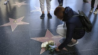 Los Angeles - Hollywood Boulevard - Michael Jackson
