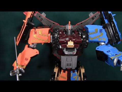 Tobot Giga 7 Review (Young Toys 또봇)