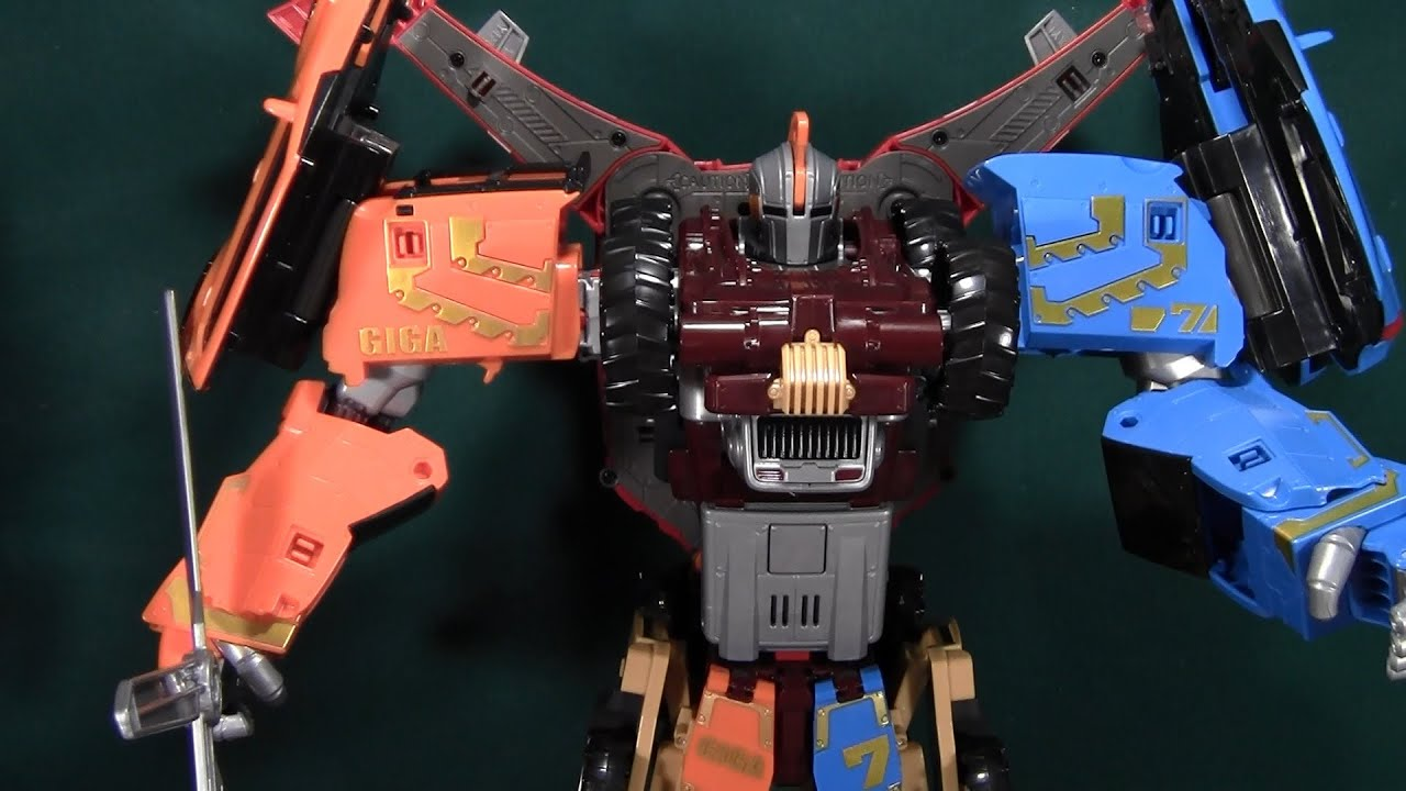 Tobot Giga 7 Review Young Toys 또봇