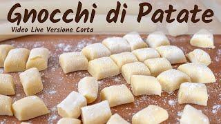 Ricetta Gnocchi Di Zucca Fatto In Casa Da Benedetta.Gnocchi Di Patate Fatti In Casa Fatto In Casa Da Benedetta Rossi