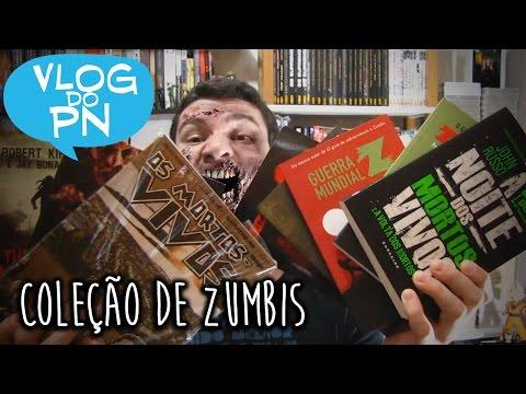 Quadrinhos e livros de ZUMBIS | Vlog do PN#54