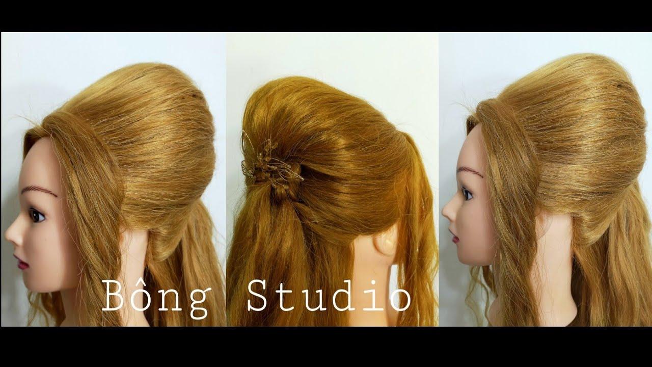 Hướng dẫn bới tóc |Cách búi tóc dự tiệc|hair styling instructions|Bông Studio | Tổng hợp kiến thức về tóc đẹp mới nhất