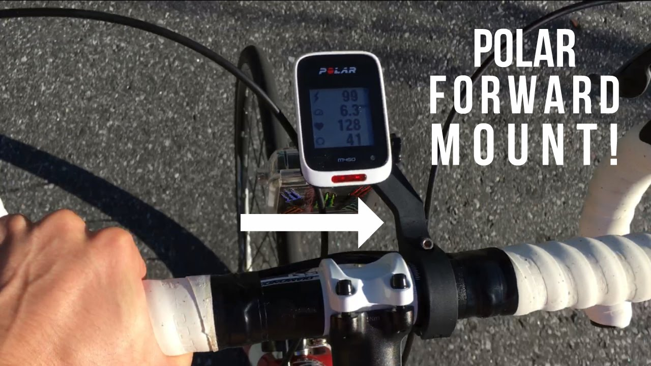Bike Mount Bracket Holder Handle Bar Computer Mount for Polar M450 V650 GPS E2O4