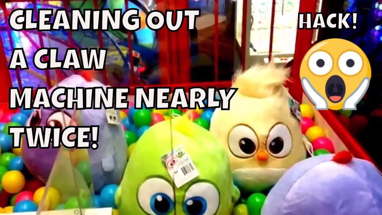 CLAW MACHINE HACK WILL BLOW YOUR MIND!!!!!! 2018- claw machine player