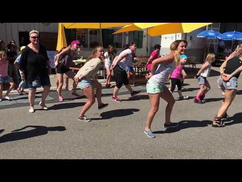 Flashmob Dorfet Neftenbach