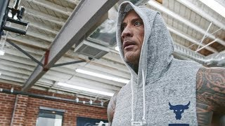 Enter the Iron Paradise 2 BEND BOUNDARIES Dwayne Johnson Under Armour Caign