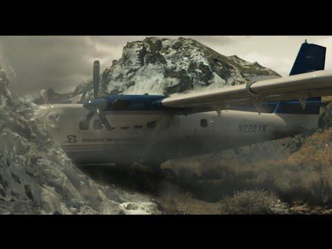 Greenland Plane Crash Scene   HD clip