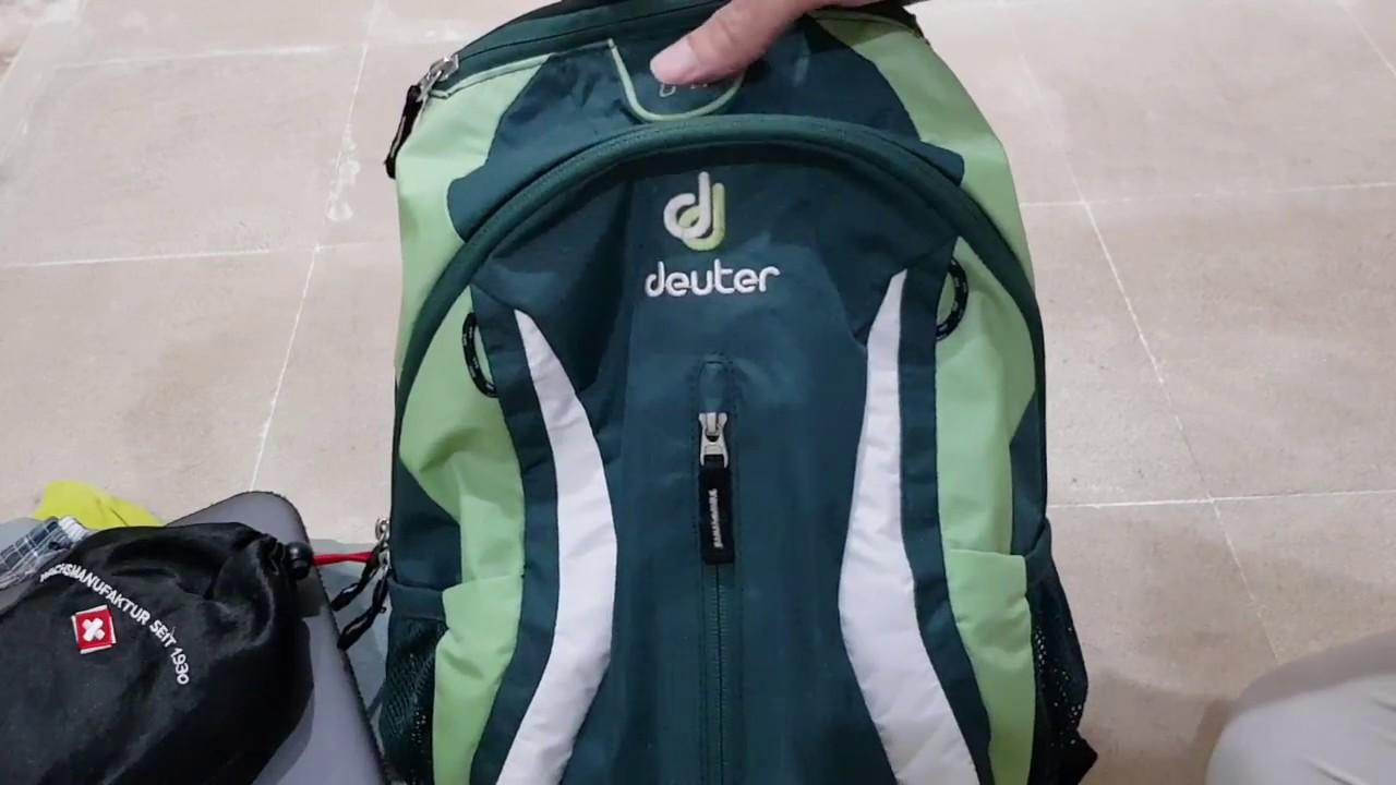 deuter race x 12L backpack review