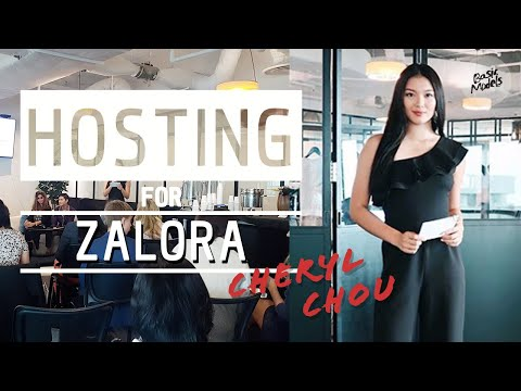CHERYL CHOU | ZALORA FASHION FUTURES 1.0 PRESS CONFERENCE | BASIC MODELS