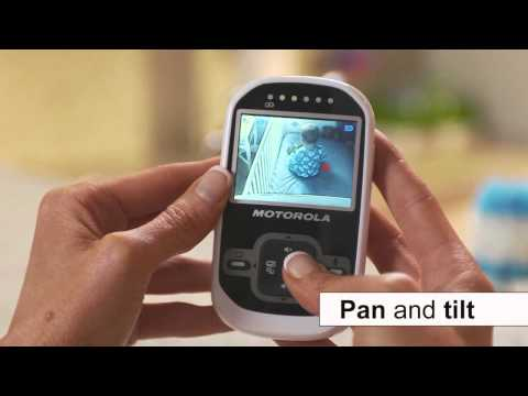 Motorola MBP26 2.4 Digital Video Baby Monitor  kiddicare