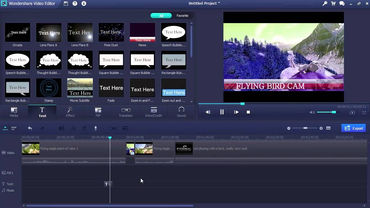 best free video editing software like sony vegas