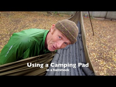 using a camping pad as hammock insulation using a camping pad as hammock insulation   youtube  rh   youtube