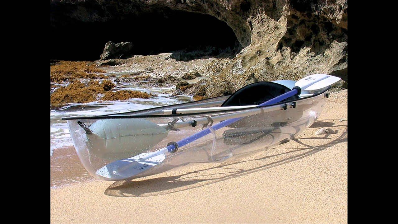 transparent canoe kayak youtube