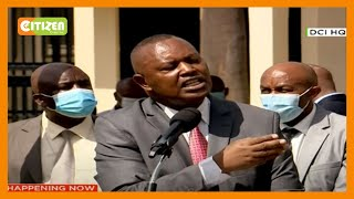DCI Kinoti says guns acquired by Citizen TV for #GunsGalore expose don't belong to the police